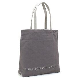 訳あり 縫製不良 ルイヴィトン LOUIS VUITTON フォンダシオンルイヴィトン Fondation Louis Vuitton トートバッグ TOTE グレー