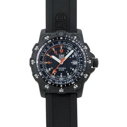 ルミノックス LUMINOX 8822.MI マイル リコンポイントマン メンズ ブラック&オレンジ/ブラックラバー 時計/ウォッチ