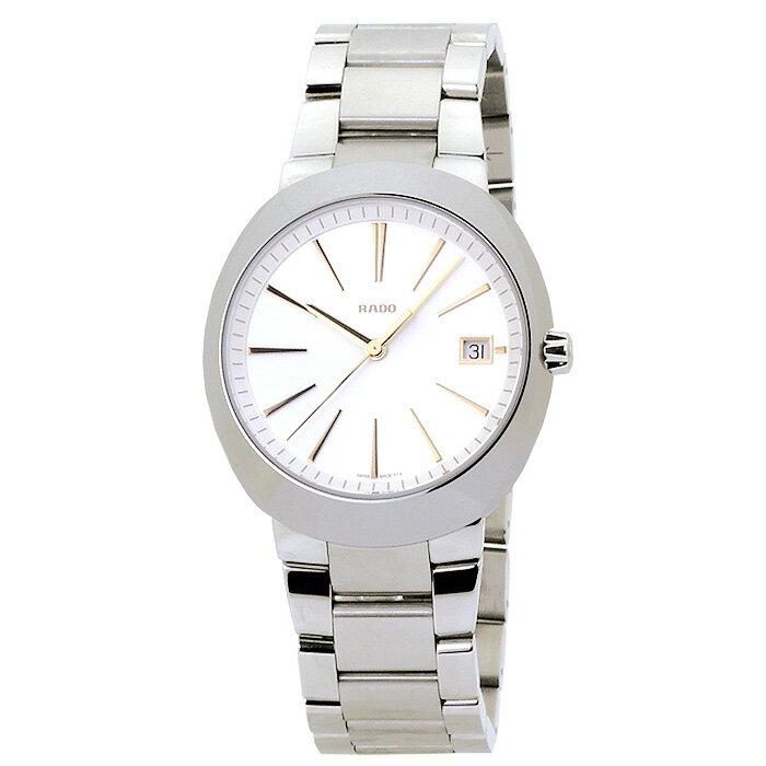 ラドー RADO Dスター R15943123 ホワイト コンビベルト メンズ 時計 ウォッチ