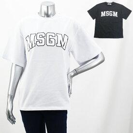 エムエスジーエム MSGM ロゴプリントTシャツ MDM162 298