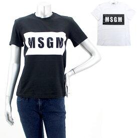 エムエスジーエム MSGM ロゴプリントTシャツ MDM95 298