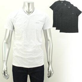 ディーゼル DIESEL VネックTシャツ3枚セット SPDM-AALW 【キャッシュレス還元対応】