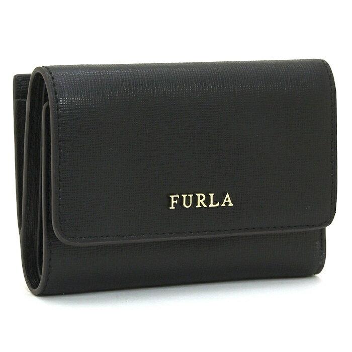 フルラ FURLA バビロン BABYLON 三つ折り財布L字ファスナー 872817 ONYX(ブラック)