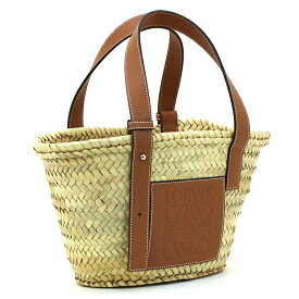 ロエベ LOEWE バスケットスモールバッグ BASKET SMALL BAG かごバッグ 327 02 S93 【キャッシュレス還元対応】