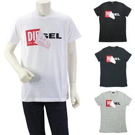 ディーゼル DIESEL T DIEGO QA デザインTシャツ 半袖ロゴカットソー 00S02X 0091B メンズ
