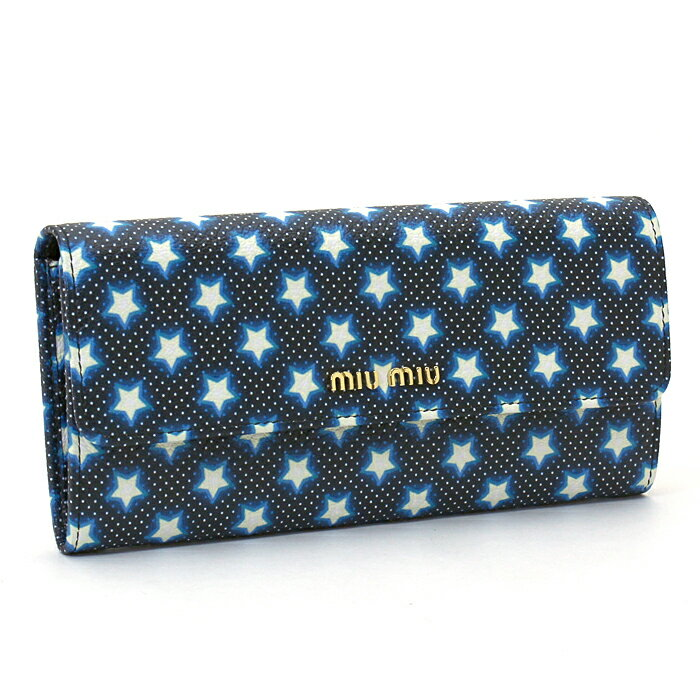 ミュウミュウ miu miu マドラス MADRAS 長財布ファスナー 5MH379