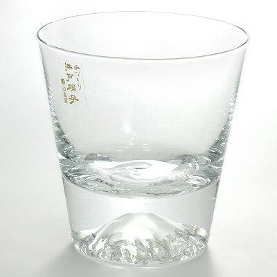 【スマホエントリーでP10倍】EDO GLASS富士山 ロックグラス