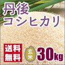新米 丹後コシヒカリ玄米30kg (28年産)送料無料