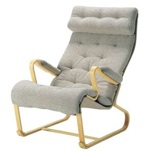 ハイバック安楽椅子 ブルーノ・マットソン 天童木工 国産品(日本製)