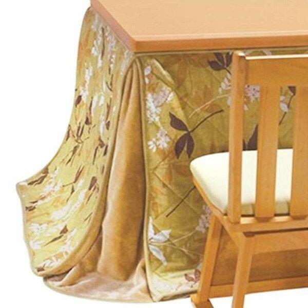 ハイタイプ高脚/ダイニングこたつ布団 長方形135×90巾コタツ用 プライム135 薄掛け布団