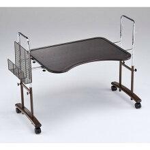 アーチ型フリーデスク(ベッドサイドテーブル)テーブル巾80センチ