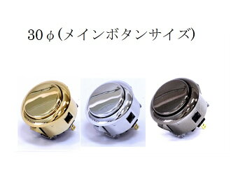 Pushbutton included metallic ham 30 Φ