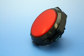 Illuminated push button flat-panel 100 mm diameter round type (integrated micro switch) (LED lamp)
