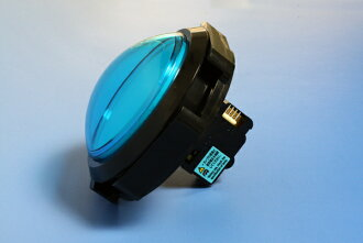 Illumination-type push button thin dome 100 φ (one microswitch type) (LED lamp)