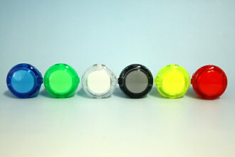ハメ込み clear pushbutton 24 mm (start and select button size)