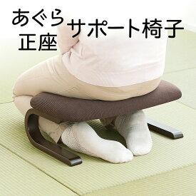 正座椅子 高座椅子 曲げ木 法事 しびれ あぐら 腰痛対策 長時間 ブラウン 和室・畳の部屋に 高齢者 腰掛 介護 テレビ座椅子 座イス 座いす