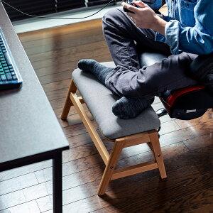 オットマンローテーブル足置き台あぐら対応テレワーク膝上テーブルスツールサイドテーブルフットレスト肘置耐荷重80kg