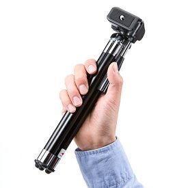 三脚 カメラ 8段伸縮 デジカメ ビデオカメラ対応 一眼レフ用 軽量・コンパクト ブラック 3脚 さんきゃく tripod