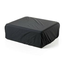プリンタカバー ブラザー・キャノン・エプソン 防塵・撥水素材 黒 Sサイズ プリンターカバー