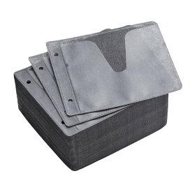 ブルーレイディスク対応 CDケース DVDケース 不織布ケース 2穴付 両面収納×500枚セット 収納ケース メディアケース Blu-ray・DVD・CD対応