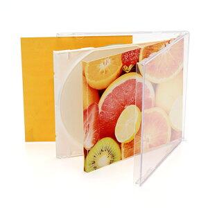 CDケースDVDケースプラケースジュエルケース50個セット収納ケースメディアケース10mm[200-FCD024]【サンワダイレクト限定品】