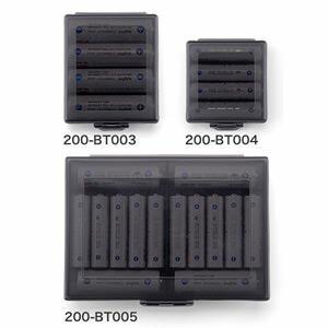 電池ケース単3電池・単4電池各最大10本収納可能バッテリーケース