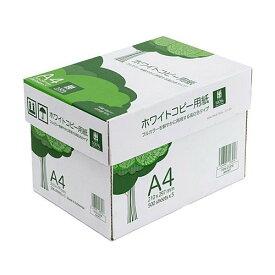 コピー用紙 A4サイズ 500枚×5冊 2500枚 高白色 ホワイト PPC用紙 印刷用紙 大容量