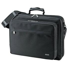 PCキャリングバッグ メンズ シングル 15.6インチワイド A4 ブラック パソコンバッグ ビジネスバッグ ビジネスバック