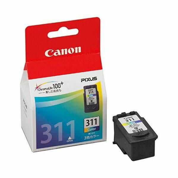 キャノン 純正インク BC-311 (3色カラー) ピクサスPIXUS対応 FINEカートリッジ キヤノン 【Canon】