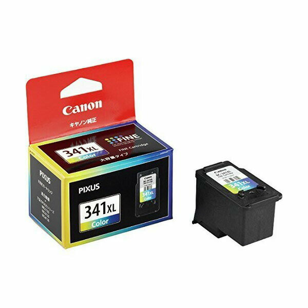 【まとめ割 2個セット】キャノン 純正インク BC-341XL (3色カラー・大容量) FINEカートリッジキヤノン 【Canon】【送料無料】