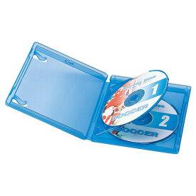 ブルーレイディスクケース 2枚収納・インデックスカード付き Blu-ray・DVD・CD対応