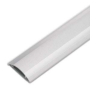 ケーブルモール 配線カバー 頑丈なアルミ製 4本収納 1m 重量物が往来する工場などに対応 配線の整理に最適なケーブルカバー おしゃれ [CA-A50]【サンワサプライ】