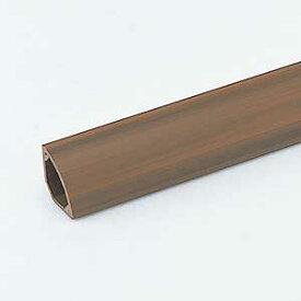 ケーブルモール 配線カバー 3本収納 1m 木目 壁と床の間のコーナー用 配線の整理に最適なケーブルカバー おしゃれ