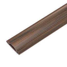 ケーブルモール 配線カバー 平型 木目 4本収納 1m 配線の整理に最適なケーブルカバー おしゃれ