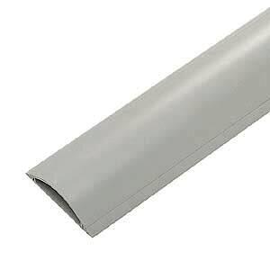 ケーブルモール 配線カバー 平型 22本収納 1m グレー 重量物が往来する工場などに対応 配線の整理に最適なケーブルカバー