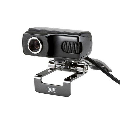 WEBカメラ(高画質500万画素・ブラック)[CMS-V40BK]【送料無料】
