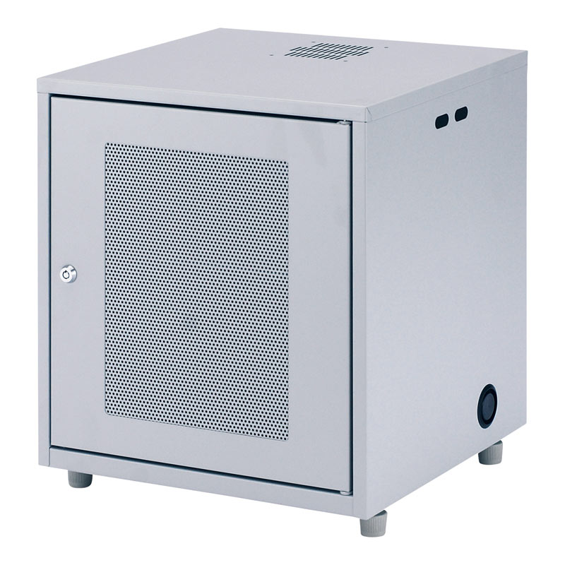 ネットワーク機器収納ボックス 幅450×奥行420×高さ508mm NAS・HDD・ルーター・LANハブなどの収納に [CP-KBOX2]【サンワサプライ】【大物商品】