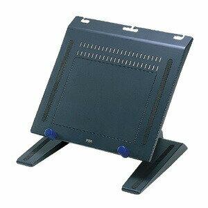 ノートパソコンスタンド ブラック キーボード収納可 角度調節可 PCスタンド [CR-35]【サンワサプライ】 【送料無料】
