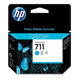 HP 純正インク インクカートリッジ HP711 シアン 29ml