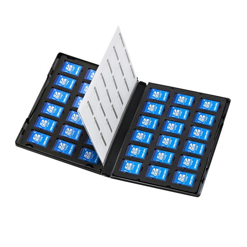 トールケース型SDカード収納ケース(36枚収納・両面収納タイプ)[FC-MMC21SD]