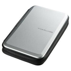 ブルーレイディスク対応セミハードケース(56枚収納・シルバー)