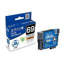エプソンICBK69対応 (ブラック) JITリサイクルインク 日本製 国産 EPSON 再生インク[JIT-E69B]【ジット】