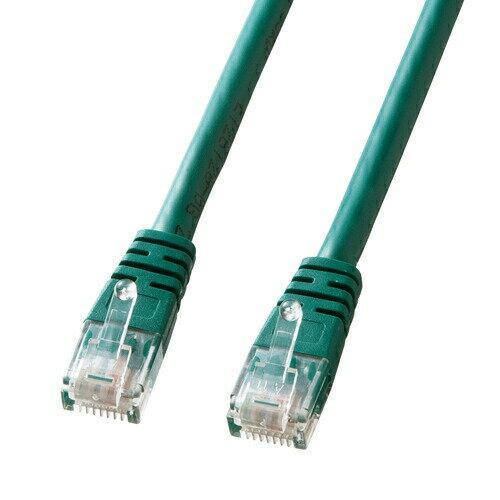 Cat 5e単線LANケーブル(3m・グリーン)[KB-T5T-03GN]【ネコポス対応】【楽天BOX受取対象商品】