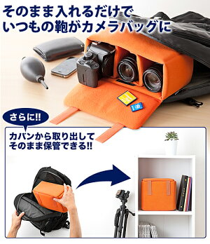 一眼レフカメラバッグインナーバッグソフトクッションボックスカメラバックCAMERABAG