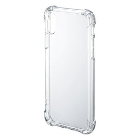 iPhone X 耐衝撃ケース[PDA-IPH018CL]【ネコポス対応】【楽天BOX受取対象商品】