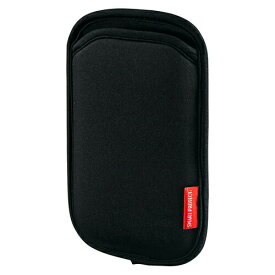 スマホケース やわらか伸縮素材 ブラック スリップインタイプ iPhone・スマートフォン(スマホ)対応