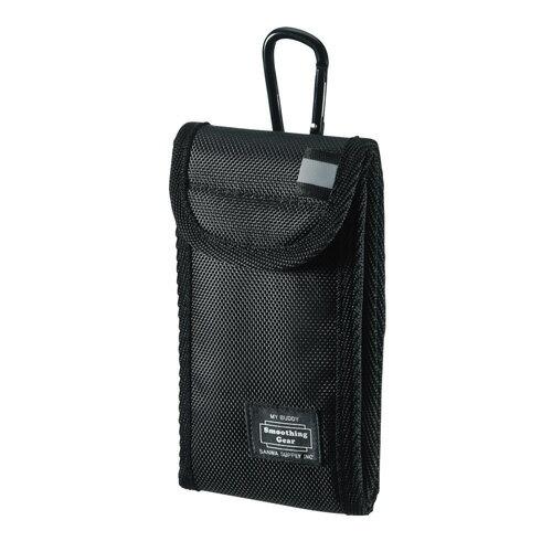 スマホケース ガジェットケース ブラック 4.7インチスマートフォンまで対応[PDA-SPC25BK]【サンワサプライ】