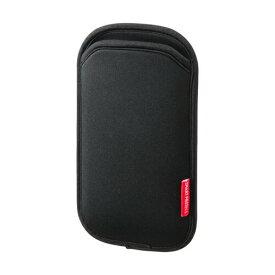 スマホケース ブラック 5インチスマートフォンまで対応 iPhone8対応 [PDA-SPC9BK]【サンワサプライ】【ネコポス対応】【楽天BOX受取対象商品】