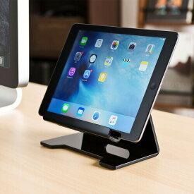 タブレットスタンド スマホスタンド iPhone iPad スマートフォン(スマホ)対応 ブラック iPhone8/8 Plus対応