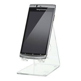 スマートフォンスタンド クリア スマホスタンド デスクスタンド 卓上 iPhone8/8 Plus対応